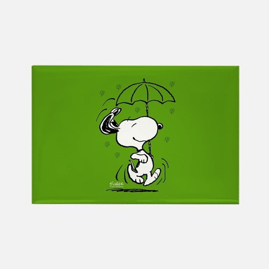 Peanuts Woodstock Lucky Rectangle Magnet
