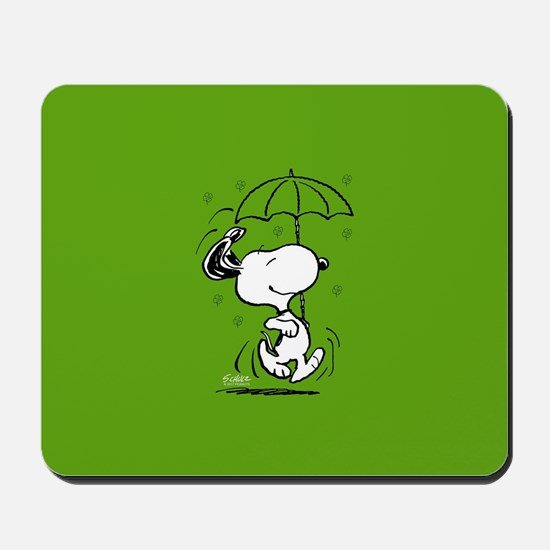 Peanuts Woodstock Lucky Mousepad