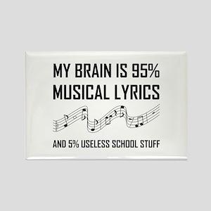 Brain Musical Lyrics Funny Magnets