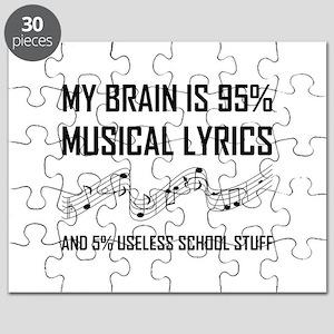 Brain Musical Lyrics Funny Puzzle
