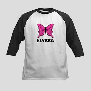 Elyssa - Butterfly Kids Baseball Jersey