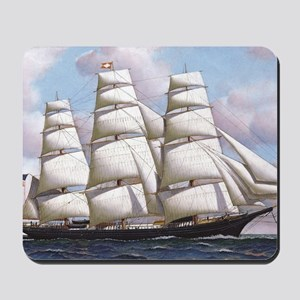 The American clipper ship Flying Cloud Mousepad