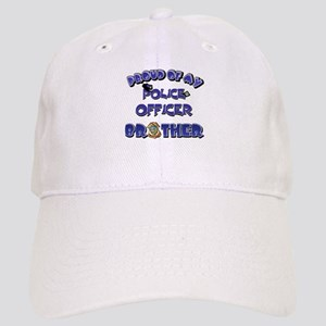 Proud of My Police Officer Brother Cap