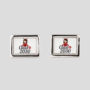 Class of 2030 Rectangular Cufflinks