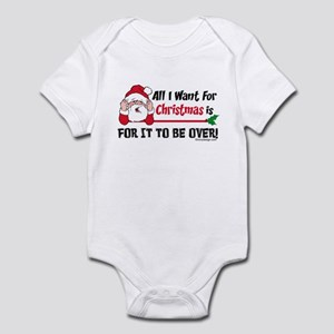 All I Want For Christmas Infant Bodysuit