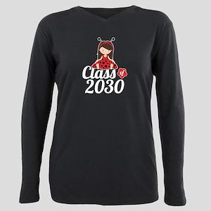 Class of 2030 Plus Size Long Sleeve Tee