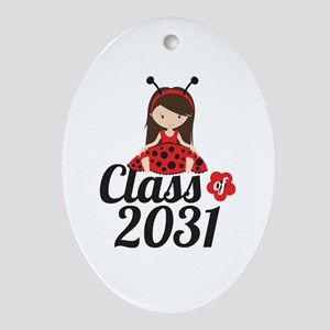 Class of 2031 Oval Ornament