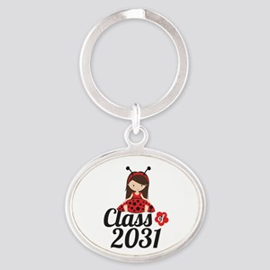 Class of 2031 Oval Keychain