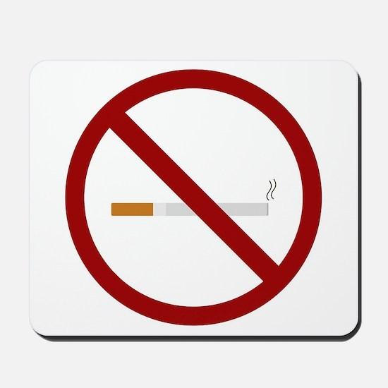 no smoking signal Mousepad