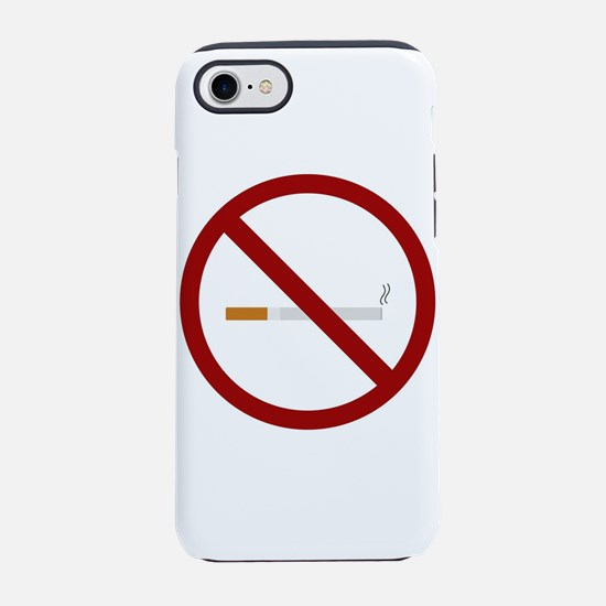 no smoking signal iPhone 8/7 Tough Case