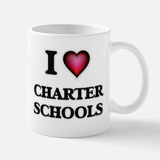 I love Charter Schools Mugs