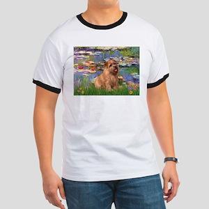 Lilies /Norfolk Terrier Ringer T