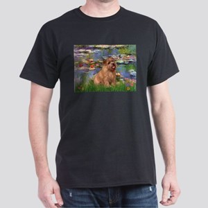 Lilies /Norfolk Terrier Dark T-Shirt