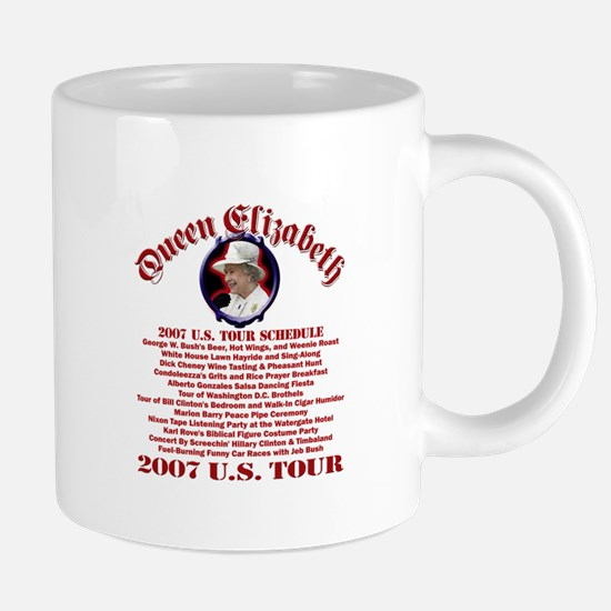 Queen Elizabeth 2007 US Tour Mugs
