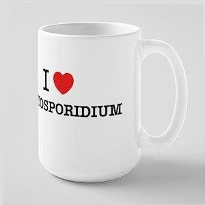 I Love CRYPTOSPORIDIUM Mugs
