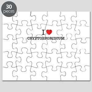 I Love CRYPTOSPORIDIUM Puzzle