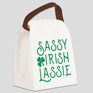 Sassy Irish Lassie Canvas Lunch Bag