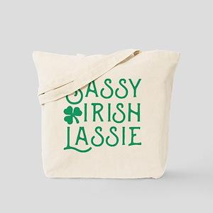 Sassy Irish Lassie Tote Bag