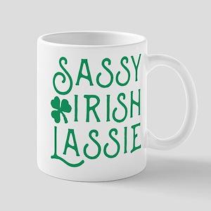 Sassy Irish Lassie 11 oz Ceramic Mug