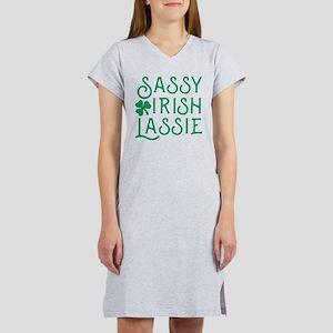 Sassy Irish Lassie Women's Nightshirt