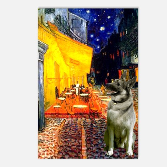 Cafe / Nor Elkhound Postcards (Package of 8)