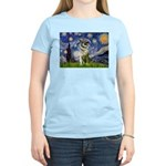 Starry / Nor Elkhound Women's Light T-Shirt
