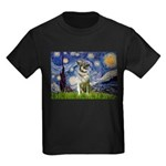 Starry / Nor Elkhound Kids Dark T-Shirt