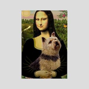 Mona / Norwich Terrier Rectangle Magnet