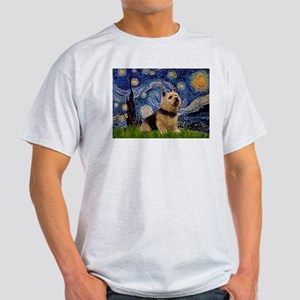Starry /Norwich Terrier Light T-Shirt