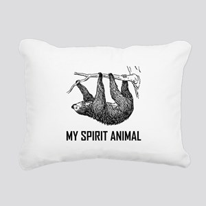 Sloth My Spirit Animal Funny Rectangular Canvas Pi