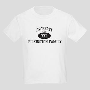 Property of Pilkington Family Kids Light T-Shirt