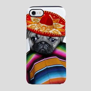 Mexican pug dog iPhone 8/7 Tough Case