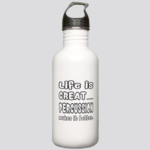 Percussion makes it be Stainless Water Bottle 1.0L