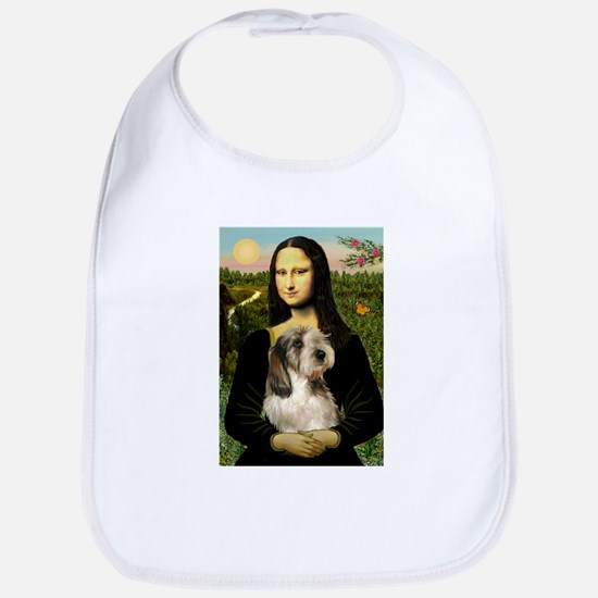 Mona Lisa / PBGV Bib