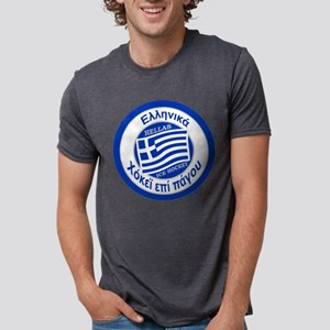 Greece Hellas Ice Hockey T-Shirt