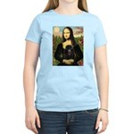 Mona / Poodle (bl) Women's Light T-Shirt