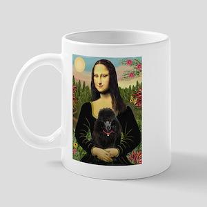 Mona / Poodle (bl) Mug