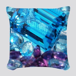 Jewels Woven Throw Pillow