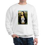 Mona Lisa / Poodle(w) Sweatshirt