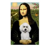 Mona Lisa / Poodle(w) Postcards (Package of 8)