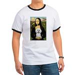 Mona Lisa / Poodle(w) Ringer T