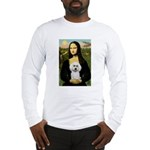 Mona Lisa / Poodle(w) Long Sleeve T-Shirt