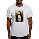 Mona Lisa / Poodle(w) Light T-Shirt