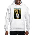 Mona Lisa / Poodle(w) Hooded Sweatshirt