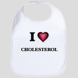 I love Cholesterol Bib