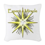 Christian Miracle Woven Throw Pillow