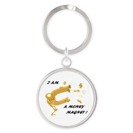 Money Reiki Energy Infused Round Keychains