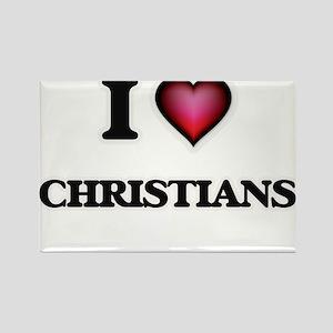 I love Christians Magnets