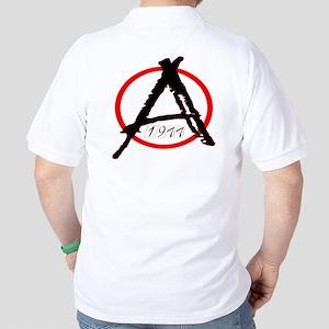 Punk Anarchy 1977 Golf Shirt