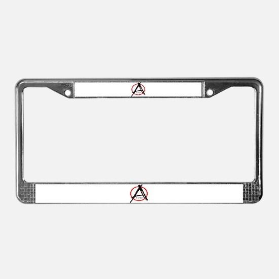 Punk Anarchy 1977 License Plate Frame
